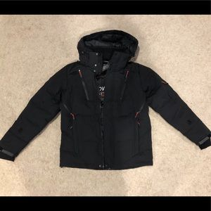 Down-Feather Skiing Jacket